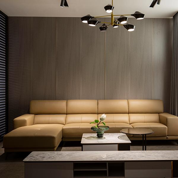 SF2189 雅宝真皮沙发 1+3+床